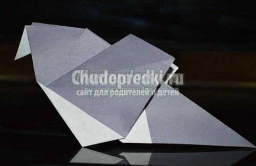 Голубь из бумаги своими руками. Популярные мастер-классы с фото
