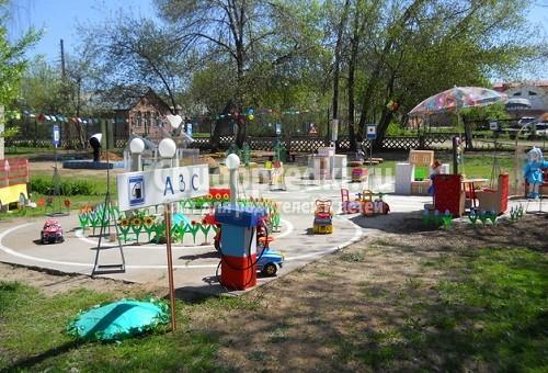 Площадки детских садов своими руками. Фото и идеи