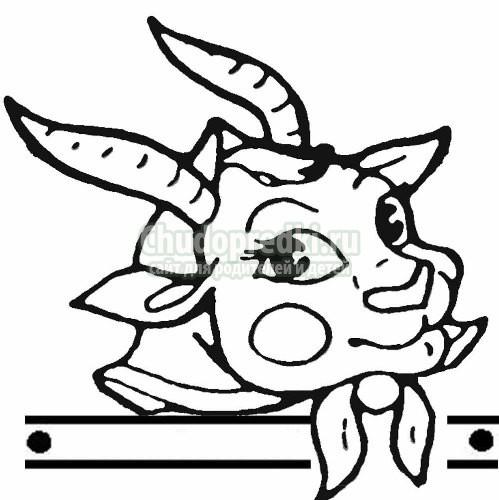 Маска козы своими руками