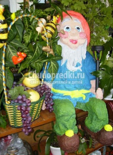 садовые украшения-поделки