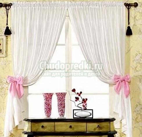 Как сделать шторы своими руками: мастер класс