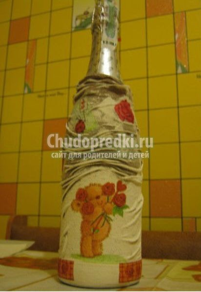 бутылочный декор