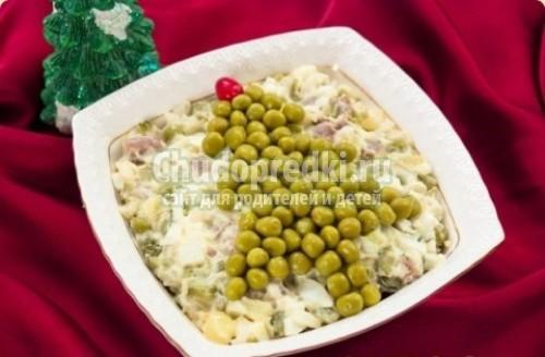 Зимний салат