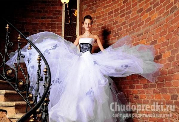 Шикарные пышные платья
