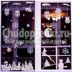 новогодние украшения дома 2015