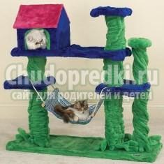 Как сделать домик для кошки: пошаговый мастер-класс с фото