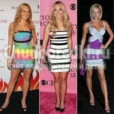 Бандажные платья: как выбрать и с чем носить?
