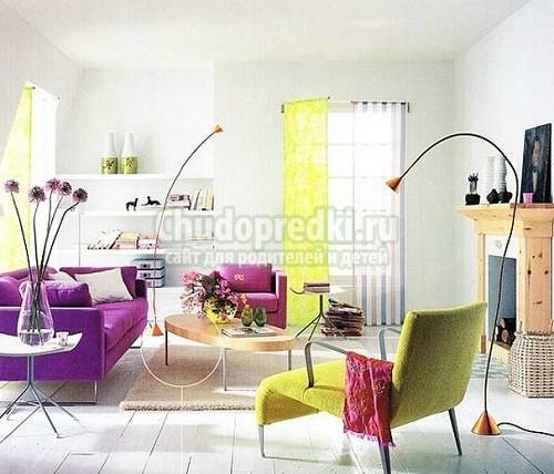 Сочетающиеся цвета в интерьере. Фото и идеи. Как правильно подобрать?