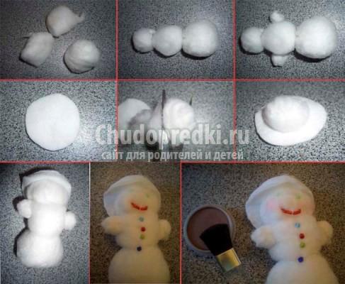снеговик новогодний: лучшие идеи, фото и мастер-классы.