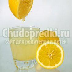 Сок лимона: лучшие рецепты с фото