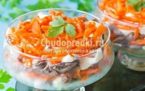Вкусные праздничные салаты