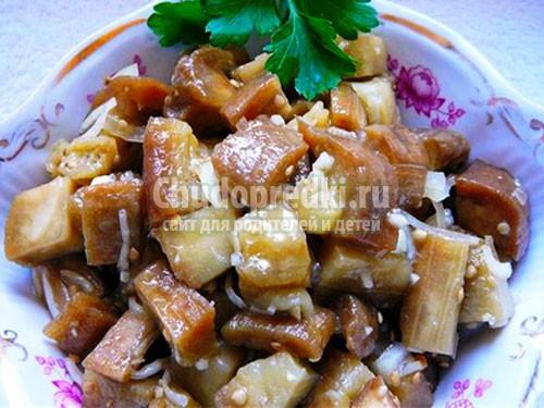 баклажаны на зиму, как грибы: лучшие рецепты с пошаговыми фото.