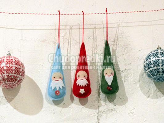 1. новогодние игрушки на елку своими руками: пошаговые мастер-классы с фото