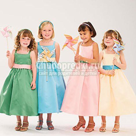 Детские платья 2015: актуальные тенденции