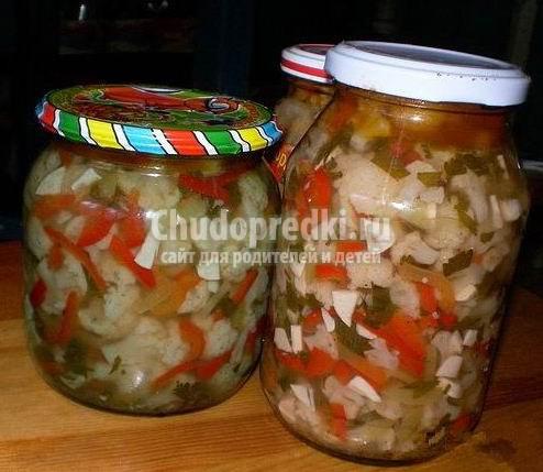 Заготовки на зиму из капусты. Самые вкусные и аппетитные!