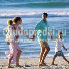 Отдых с детьми на море. где отдохнуть и как подготовиться?