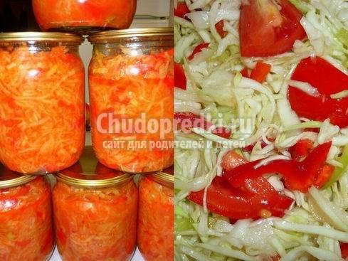 Салат из перца на зиму: популярные рецепты с фото