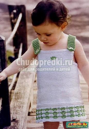 Вязание для девочек 1 год: схемы и пошаговые мастер-классы с фото