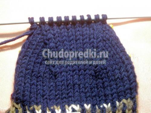 вязание на спицах - носки: схемы и подробное описание