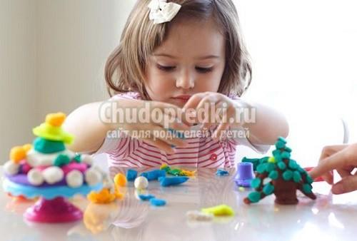 Как сделать пластилин своими руками: рецепты для детей