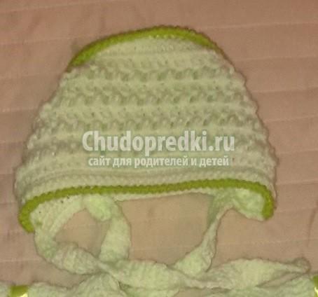 Вязание для новорожденных девочек: подборка фото и схем