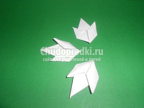 Подснежники из бумаги: пошаговые мастер-классы с фото
