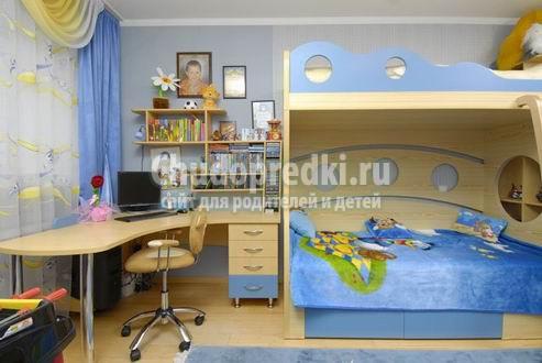 Мебель для детской комнаты. Разновидности и правила выбора