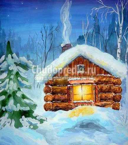 Как нарисовать зиму: поэтапная инструкция с фото