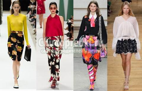 Мода лета 2015: фото с подиумов