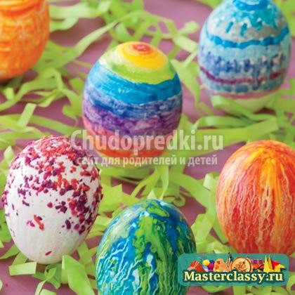 Яйца на Пасху своими руками: пошаговые мастер-классы