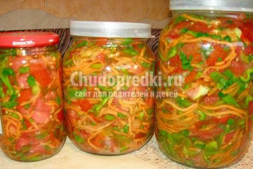Заправка для супа на зиму рецепты фото