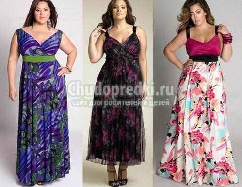Модели летних платьев для женщин