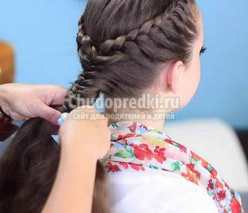 Плетение косичек для девочек: пошагово с фото