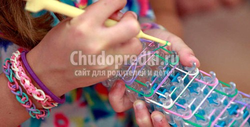 Как сплести чехол для телефона из резинок