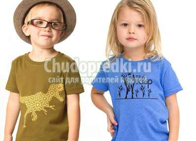 Трикотажная одежда - лучший выбор для детей