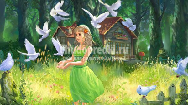 сказка для самых маленьких. Маленький лесной путешественник