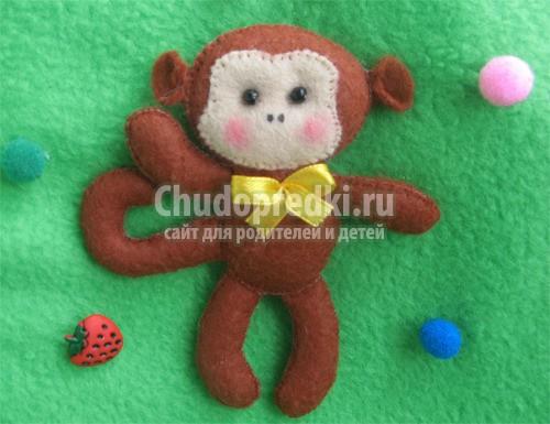 Поделка обезьяна своими руками. Только лучшие идеи