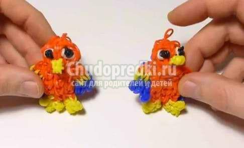 Плетение игрушек из резинок: фото и видео мастер-классы