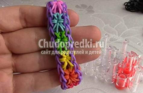 Уроки плетения из резиночек на станке. Лучшие идеи для вас
