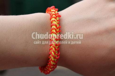 Плетение с резиночками. Самые красивые браслеты