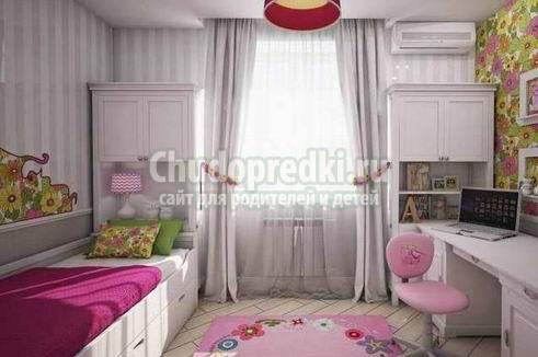 Особенности дизайна детской комнаты для девочки