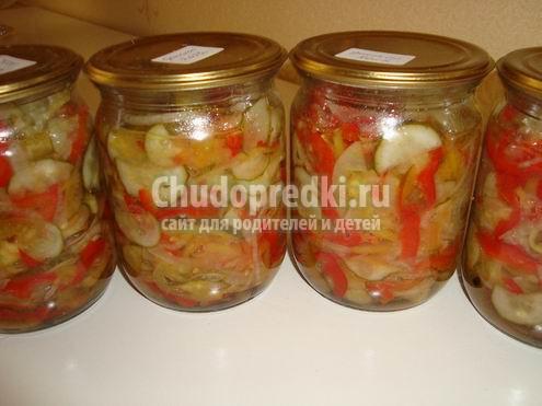 Салаты на зиму из овощей. Золотые рецепты