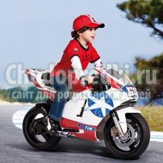 Электромотоцикл – отличный детский подарок