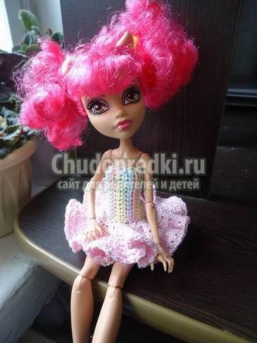 Платья для кукол. Лучшие варианты с фото