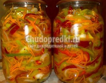 Рецепт салатов с фото на зиму