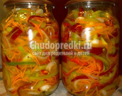 Заготовки на зиму салатов с фото и рецептом
