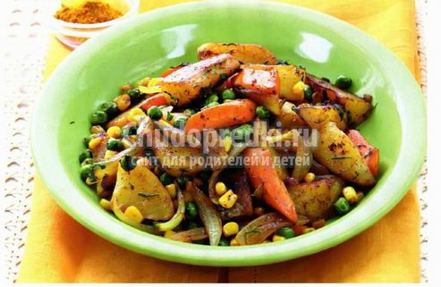 Овощное рагу с баклажанами: лучшие рецепты с фото