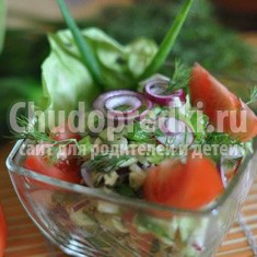 Быстрые салаты. Лучшие овощные варианты с маслом