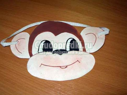 Детские маски на Новый год. Делаем своими руками