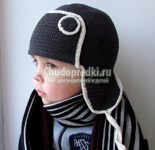Зимние шапки для девочек. Вяжем своими руками